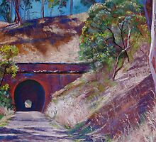 The Cheviot Rail Tunnel, (Yea) by Lynda Robinson