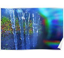 Rainbow Ice Poster