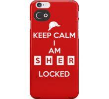 Keep Calm Mycroft, the case iPhone Case/Skin