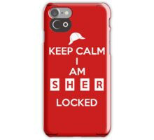 Keep Calm Mycroft, the case iPhone Case/Skin