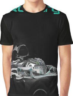 Nico Rosberg 2015 Mercedes F1 Graphic T-Shirt