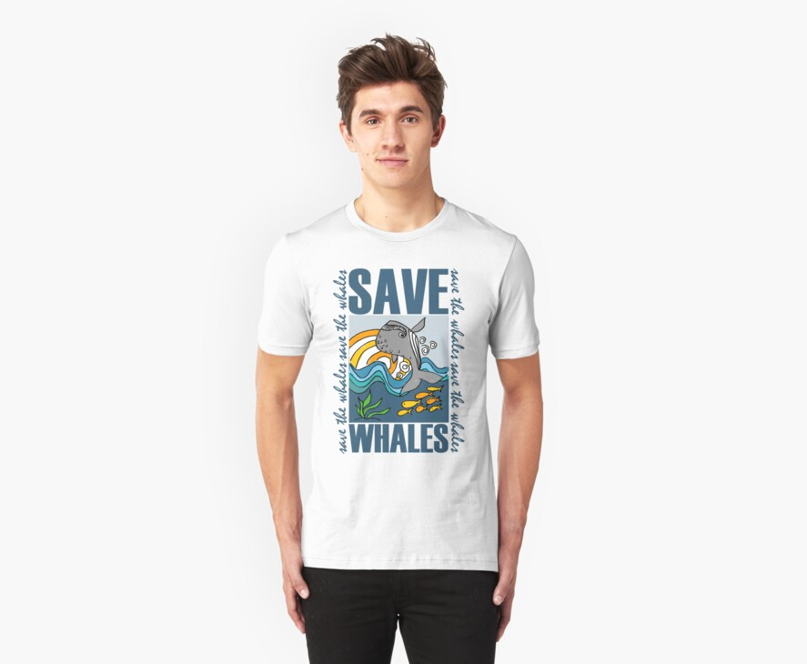 SAVE WHALES by dale rogers