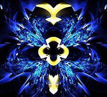 Blue Ice by Norma Jean Lipert