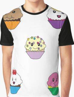 Kawaii Cupcakes or Kawaii cupcake Graphic T-Shirt