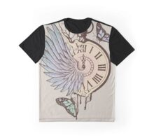Le Temps Passe Vite (Time Flies) Graphic T-Shirt