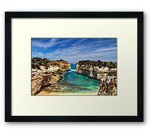 """""""Loch Ard Gorge"""" Framed Print"""