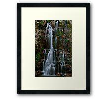 Minnamurra Falls. Framed Print
