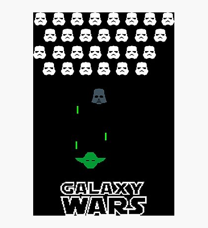 8-bit wars Photographic Print