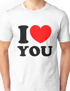 """I Heart You"" Unisex T-Shirt"