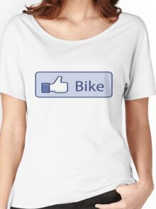Like Bike Thumbs Up Women's Relaxed Fit T-Shirt
