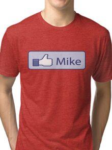 Like Mike Thumbs up Tri-blend T-Shirt