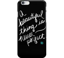 A Beautiful Thing (inverse) iPhone Case/Skin
