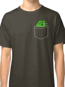 Pocket Pepe The Frog Classic T-Shirt