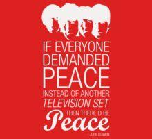 Peace - John Lennon Kids Clothes