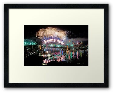 Simply The Best ! - Sydney NYE Fireworks  #4 by Philip Johnson