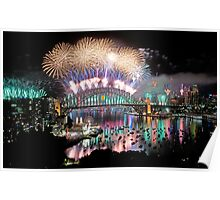Simply The Best ! - Sydney NYE Fireworks  #4 Poster