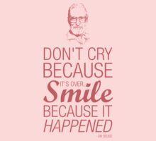 Smile because it happened - Dr Seuss Kids Clothes