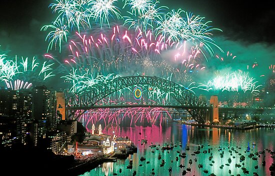 Simply The Best ! - Sydney NYE Fireworks  #5 by Philip Johnson