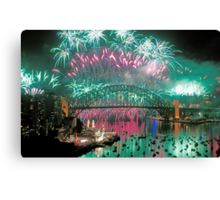 Simply The Best ! - Sydney NYE Fireworks  #5 Canvas Print