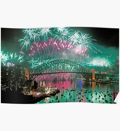 Simply The Best ! - Sydney NYE Fireworks  #5 Poster