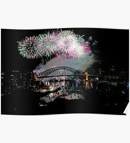 Simply The Best ! - Sydney NYE Fireworks  #7 Poster