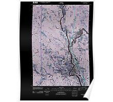 USGS Topo Map Washington State WA Castle Rock 20110405 TM Inverted Poster