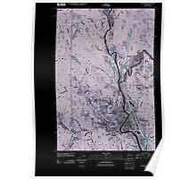 USGS Topo Map Washington State WA Castle Rock 20110405 TM Inverted Poster