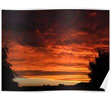 Australian Sunset Poster