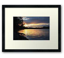 river de oro ... Framed Print
