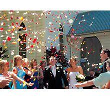 Celebration of the Newly Weds Photographic Print