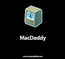 MacDaddy Iphone Case by creativebloke