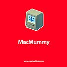 Mac Mummy iPhone Case by creativebloke