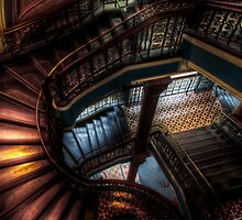 QVB Staircase by Andrew Dickman