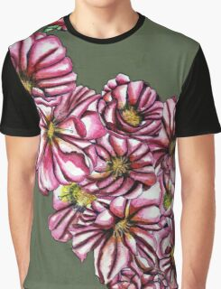 Almond tree flowers Graphic T-Shirt