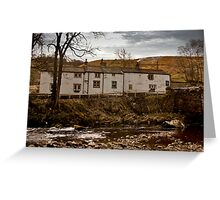George Inn - Hubberholme Greeting Card