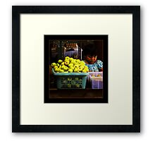 Marketing is Childs Play. Framed Print