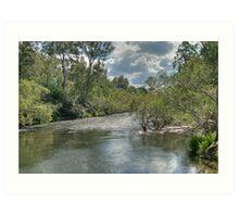 Nymboida River, NSW, Australia Art Print