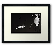 WaspBot - Hi tech nature series  (sci-fi) Framed Print