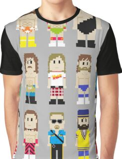 8-Bit Wrestling! Graphic T-Shirt