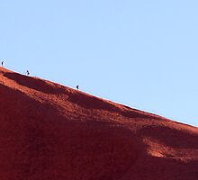 Uluru Climb by Anthony Judd