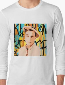 Buster Keaton 2 Long Sleeve T-Shirt