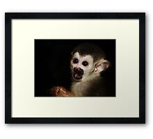Baby Eyes Framed Print
