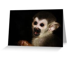 Baby Eyes Greeting Card