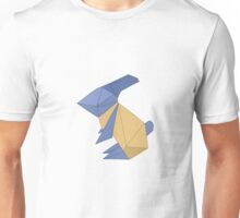 To the Moon - Origami Rabbit Unisex T-Shirt