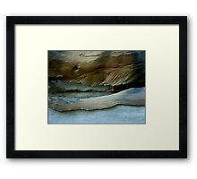 Rock Formation, Parsley Bay, Sydney - 1 Framed Print
