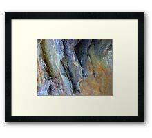 Rock Formation, Parsley Bay, Sydney - 2 Framed Print