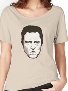 Christopher Walken - Faces Of Awesome Women's Relaxed Fit T-Shirt