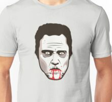 Zombie Christopher Walken - Faces Of Awesome Unisex T-Shirt