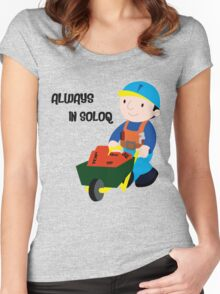 Always in SoloQ Women's Fitted Scoop T-Shirt