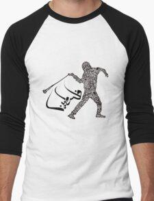 Palestine.  Men's Baseball ¾ T-Shirt